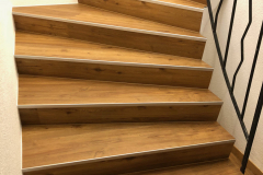 Kunststoffboden Treppe