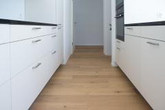 Parkettboden in Küche