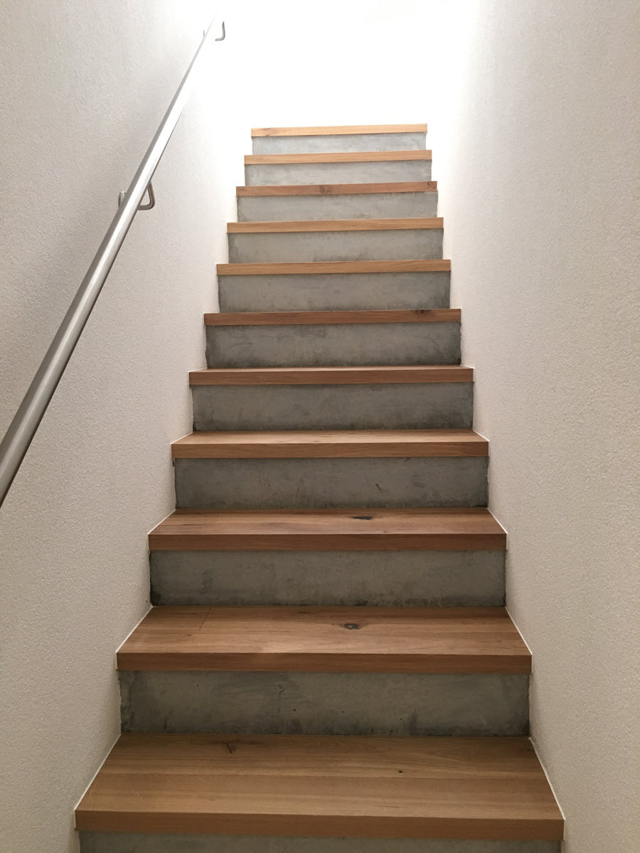Holztreppe Parkett Treppe R 252 Fenacht Bodenbel 228 Ge